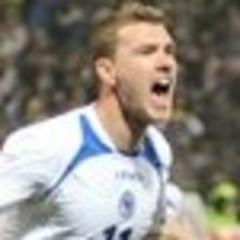 džeko double propels bosnia past greece